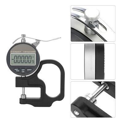 Accuracy 0.001 Mm Digital Display Paper Thickness Gauge Measuring Meter 0-12.7mm