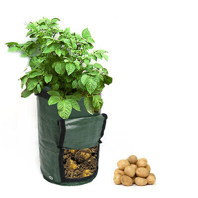 7/10 Gallon Potato Planting Bag Pot Planter Growing Gardening Grow Container New Baskets, Pots & Window Boxes