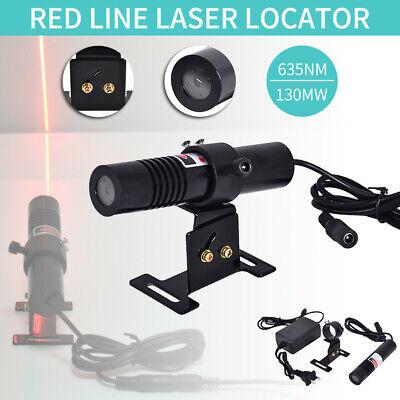 635nm 130mw Red Laser Line Module Long Time Work 5v Adapter Ada Mount 100-220v