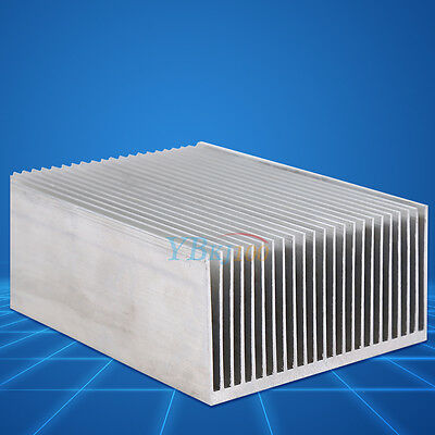 100mm X 69mm X 36mm Aluminum Radiator Heat Sink Cooling Fin Fr Led Transistor Ob