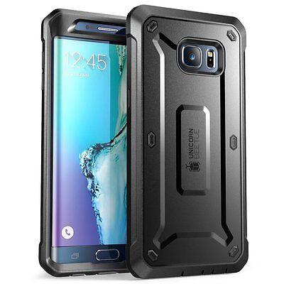 Samsung Galaxy S6 Edge Plus Case SUPCASE Belt Clip Holster Unicorn Beetle
