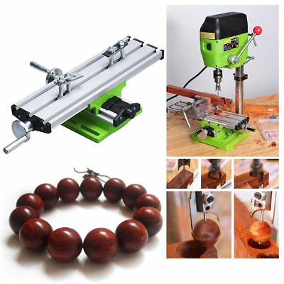 Mini Milling Machine Multi-function Worktable Drill Vise Fixture For Bench Drill