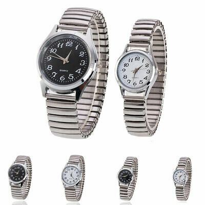 UK Fashion Casual Business Yaweisi Quartz Elastic Strap Band Couple Wrist Watch