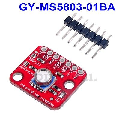 Ms5803-01ba Fluid Liquid Gas Pressure Sensor Breakout Module For Arduino I2c Spi