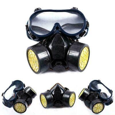 Profi Atemschutzmaske Gasmaske Vollmaske ABC Maske Schutzmaske mit Schutzbrille