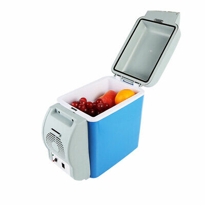 Mini 7.5L Cooler Cube Fridge Car Travel Portable 12V Refrigerator Freezer Warmer