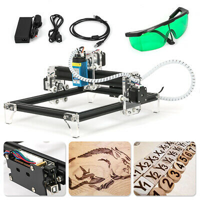 Usa 500mw Area Mini Cnc Laser Engraving Machine Diy Kit Desktop Laser Printer