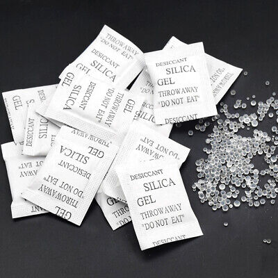 2550100 Non-toxic Silica Gel Desiccant Damp Dehumidifier Clothes Food Storage