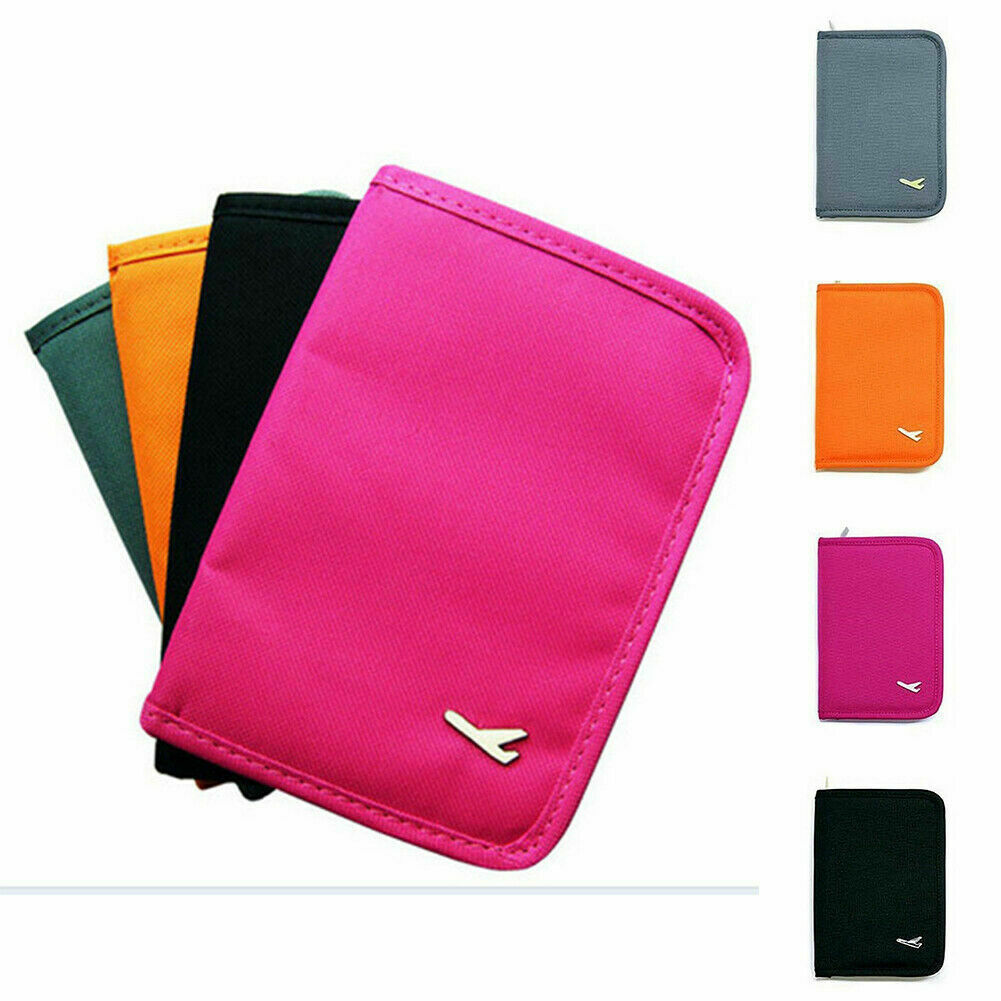 Women Passport Holder Credit ID Card Travel Wallet Document Bag Case Organizer Clothing, Shoes & Accessories