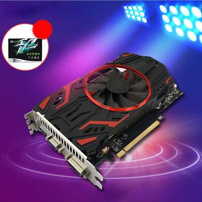 GTX1050 128Bit PCI-E 2GB GDDR5 Grafikkarte Videokarte HDMI/VGA/DVI w/ Dual Fans