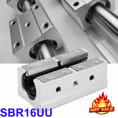 New Sbr20luu 20mm Linear Motion Bearing Slide Block Cnc Router Parts Usa On Sale