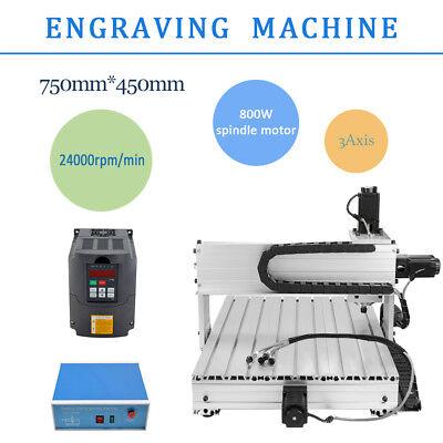 3 Axis Cnc6040 Desktop Usb Router Engraving Drilling Milling Machine Engraver
