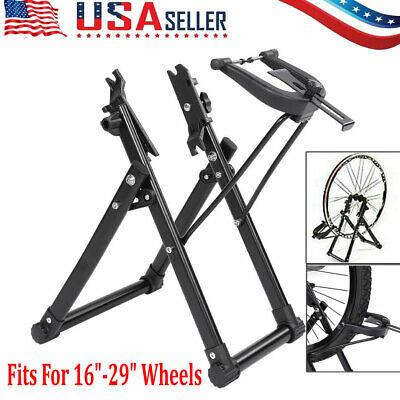 "Bike Wheel Truing Stand Bicycle Wheel Maintenance Fits 16"" - 29""  Wheels"
