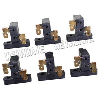 6x Carbon Brush For Coleman Powermate 0064523 Td1421-b98-0000 Gasoline Generator