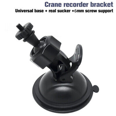 Black Car Video Recorder Suction Cup Mount Bracket Holder Stand for Dash Camera