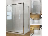8 MM GLASS SHOWER ENCLOSURE 1200x800 (Home base ex display) £ 40