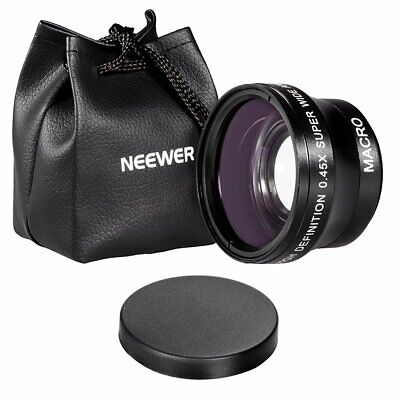 Neewer 37mm High Definition Professional Photography Camera Lens - Wide Angle /
