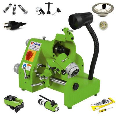 U3 With 3 Collets Universal Cutter Grinder Sharpener End Mill Lathe Bit 110v