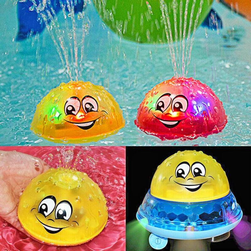 Kids Children Baby Shower Bath Toy Electric Sprinkler Water