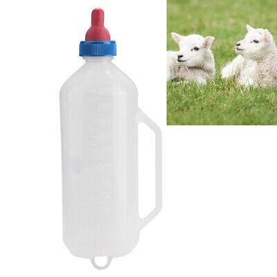Lamb Goat Milk Feeder Bottle With Nipple 1.5l Calf Nursing Bottle With Handle