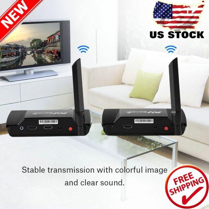 HDMI TV Audio Video Sender Transmitter Receiver Wireless Sharing Device 5.8G HM2