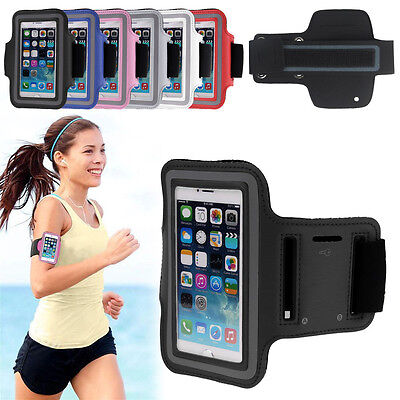 Sports Running Jogging Gym Armband Arm Band Case Holder For iPhone 5 5S 5C 4S 4