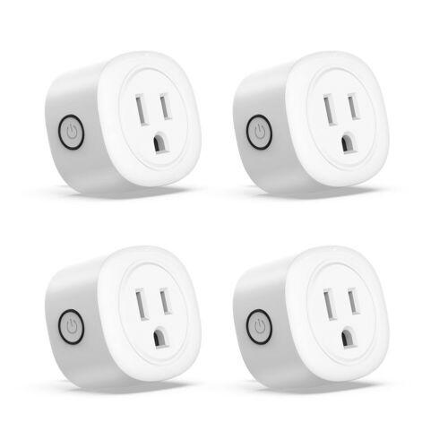 4pack smart plug wifi switch wireless socket