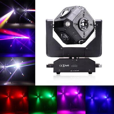 120W Cube RGBW DMX LED Moving Head Stage Lighting Disco DJ KTV Effect Lighting