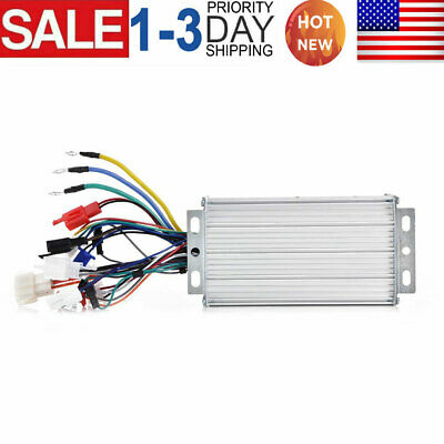 48v 500w Electric Bicycle E-bike Scooter Brushless Dc Motor Speed Controller Us