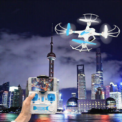 FPV RC Drone with HD Camera Wifi Live Video Headless Mode 4 Channel Quadcopter