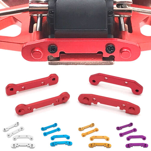 Car Parts - 4pcs Metal Reinforced Swing Arm Upgrade Parts for 1:14 Wltoys 144001 RC Car