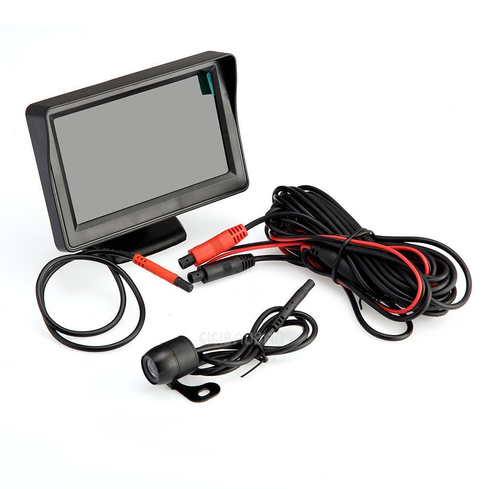 """4.3"""" Car Rear View Kit TFT LCD Monitor + Night Vision Car Reversing Camera"""