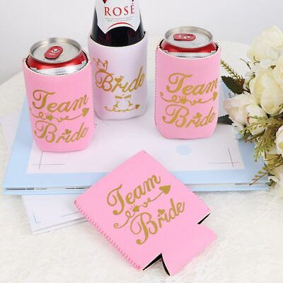 12Pcs Bachelorette Party Can Cooler Sleeve Wedding Team Bride Bridesmaid Gifts](Bridesmaids Gift)