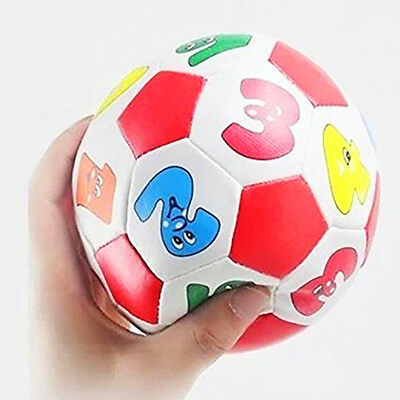 Mini Soft Rubber Ball for Children Kids Educational Toy Digital Soccer Ball - Rubber Soccer Ball