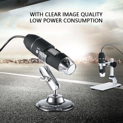 1000x Zoom 8 Led Usb Microscope Digital Magnifier Endoscope Camera With Stand Us