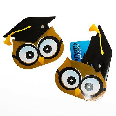 Graduation Owl Gift Card Holders ()