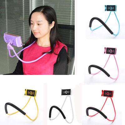 Universal Lazy Hanging Neck Phone Stand Mount Necklace Support Bracket Holder