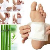 20x Premium Ginger Detox Foot Pads Patch Healthy Herbal Detox Pad Cleansing I6A