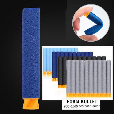 200-1000pc 7.2cm Refill Foam Darts for Nerf N-strike Elite Series Blaster Bullet