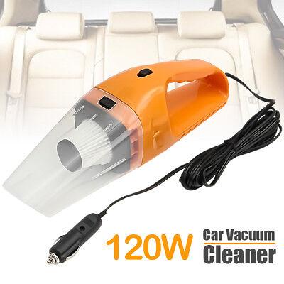 120W 12V Portable Car Vacuum Cleaner Handheld Mini Super Suction Vaccum Cleaner