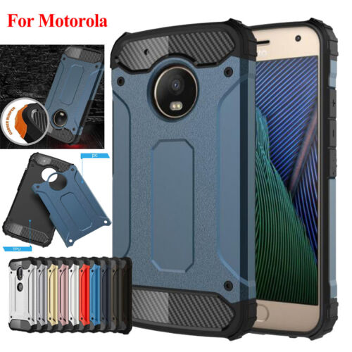 For Moto G5s Plus G5 Shockproof Silicone+Hard PC Matte Hybrid Case Covers Shell Cases, Covers & Skins