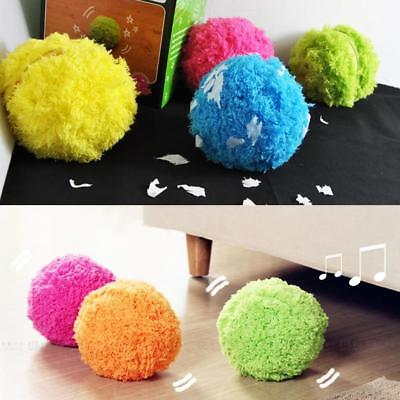 Automatic Rolling Vacuum Floor Sweeping Robot Cleaner Microfiber Ball Cleaning U