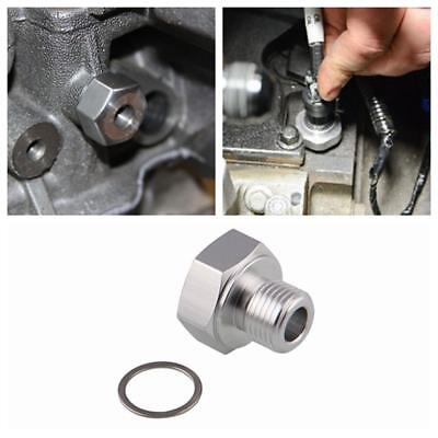 LS Oil Pressure Sensor Adapter M16x15 to 18NPT fit for All GM LS Series Engine