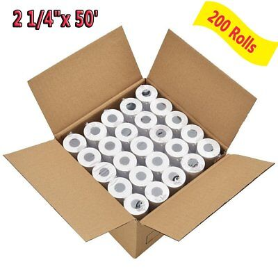 200 Rolls 2 14 X 50 Thermal Receipt Paper Roll For Mobile Pos Thermal Printer