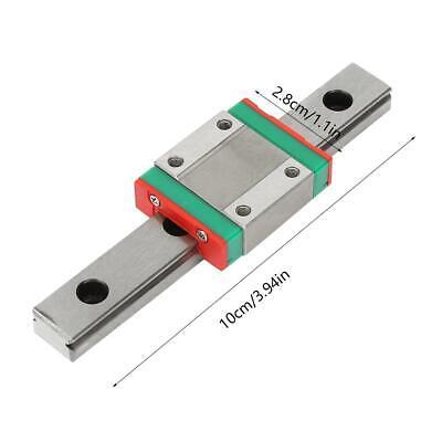 Lml12b Sliding Block Diy Cnc 3d Printer 12mm Miniature Linear Slide Rail Guide