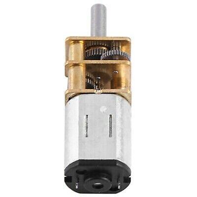 Dc 6v Micro Electric Gear Motor Gear Ratio 11000 High Torque Low Speed 10 Rpm
