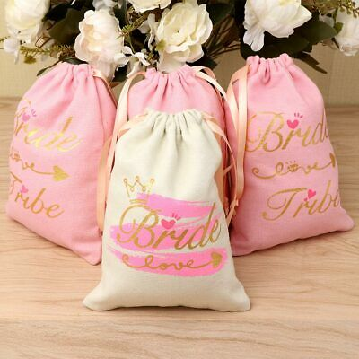11×Bridesmaid Gift Bag Bride Candy Gift Bag Bachelorette Party Hangover Kit Bag - Bridesmaid Gift Bags