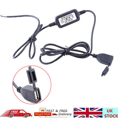 5V-80V Motorbike Motorcycle Waterproof USB Charger Power Socket Adapter Outlet