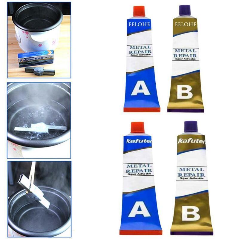 Kafuter 50g Industrial Heat Resistance Cold Weld Metal Repair Paste