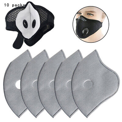 50 Pieces PM2.5 Activated Carbon Filter Replacement Pads For Face Mask Accessories